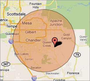 Chandler Computer Repair Service on-site Virus Removal Service Area